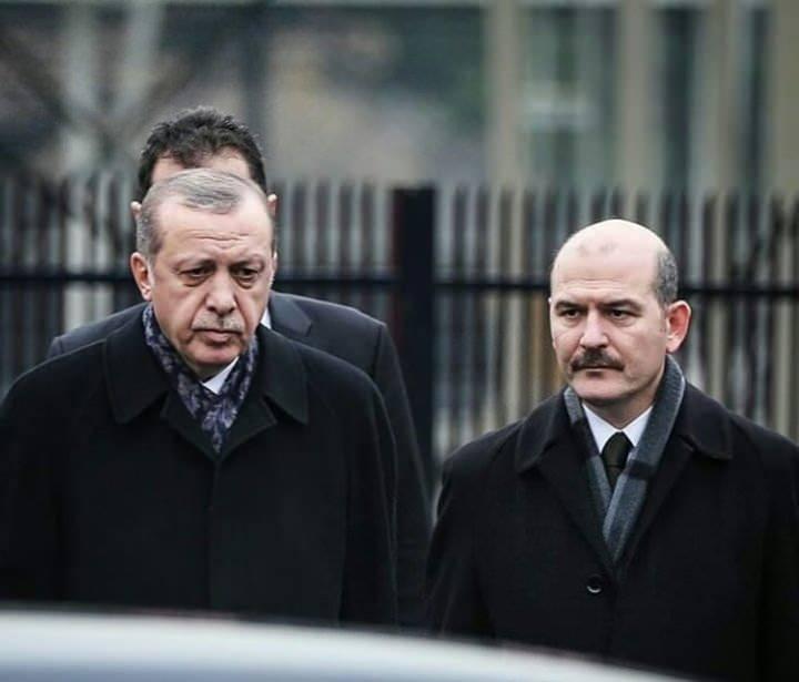 Başkan Erdoğan-Süleyman Soylu