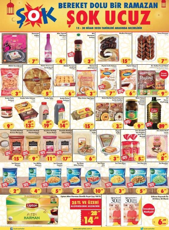 ŞOK 16 Nisan 2020 aktüel ürünler kataloğu