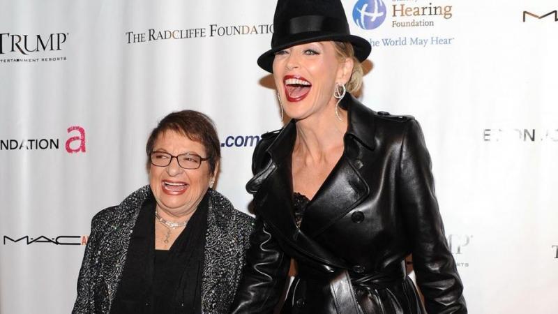 Sharon Stone manevi büyükannesini kaybetti