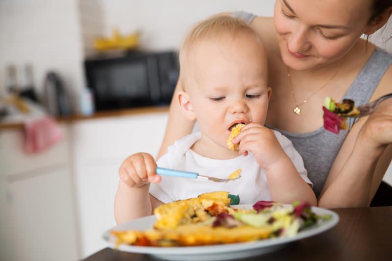Bebekler için kahvaltılık yumurta tarifi