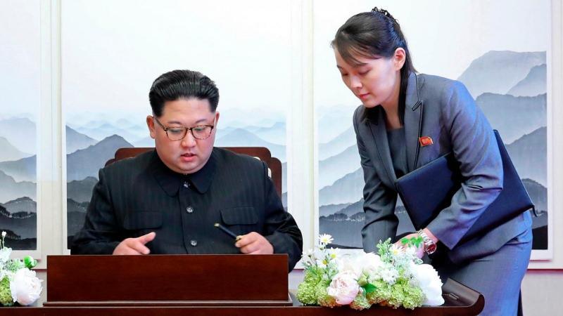 Kim'in kardeşi Kim Yo-jong