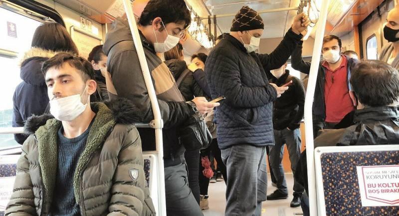 İstanbul'da toplu taşımalarda son durum endişe veriyor.