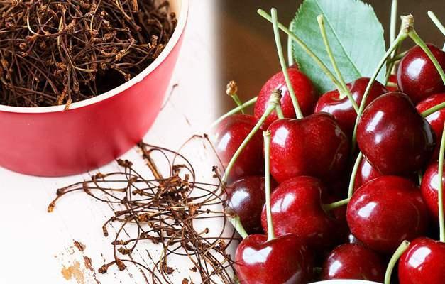 Kiraz sapının faydaları neler? Kiraz sapı çayı