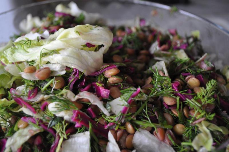 Diyet mercimekli salata tarifi! Kilo verdiren salata nasıl yapılır?