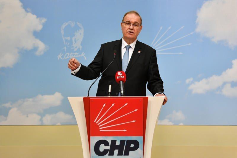 CHP Genel Başkan Yardımcısı ve Parti Sözcüsü Faik Öztrak