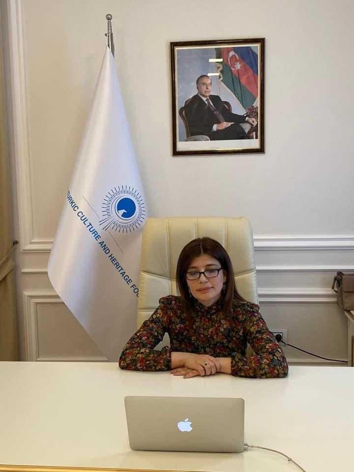 Uluslararası Türk Kültür ve Miras Vakfı Başkanı Günay Efendiyeva