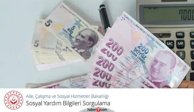 e-Devlet 1.000 lira sosyal yardım pandemi başvuru sonucu sorgulama!