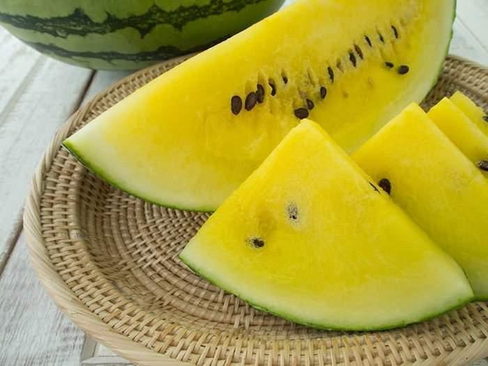 sarı karpuz güçlü bi a vitamini deposudur