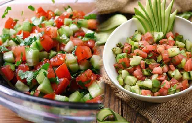 Salata diyeti listesi