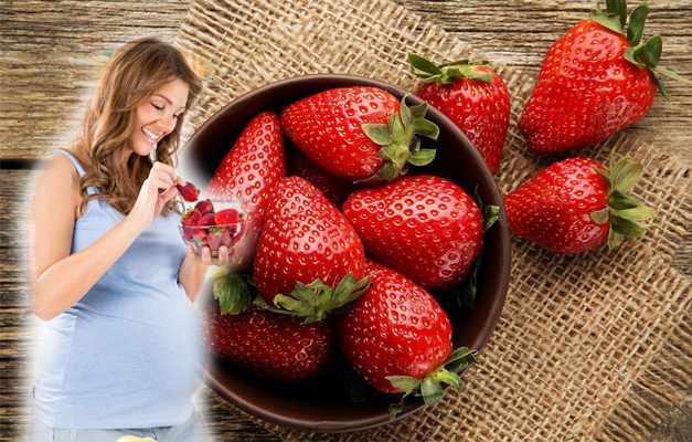 hamilelikte çilek yemenin faydaları! Hamilelikte çilek yemek leke yapar mı?