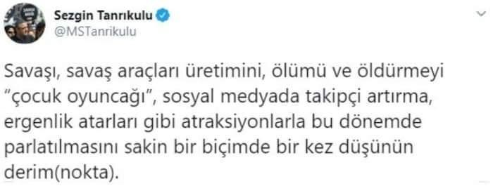 CHP'li Sezgin Tanrıkulu'nun Akıncı TİHA hazımsızlığı - SİYASET ...