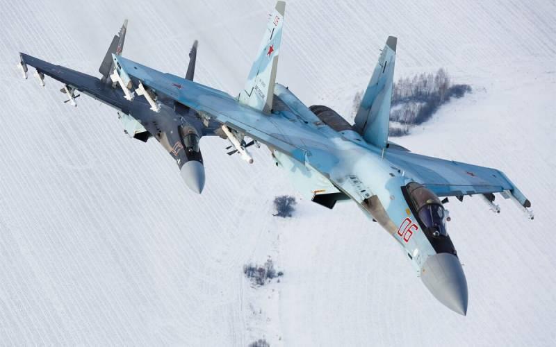 Su-35 savaş uçağı...