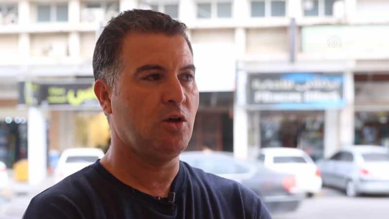 Libyalı memur Hasan Mahmud (48)