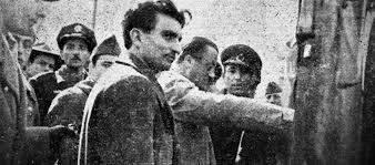 Osman Yüksel Serdengeçti ve Necip Fazıl Kısakürek.