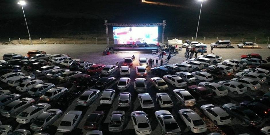 Arabalı açık hava sineması nerelerde var?