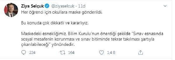 Bakan Selçuk, LGS sınavı ile ilgili açıklamada bulundu
