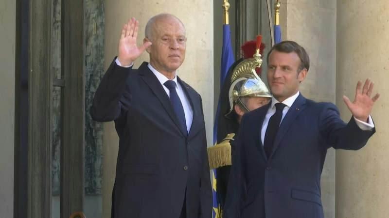 İki liderin görüşme öncesi verdiği poz