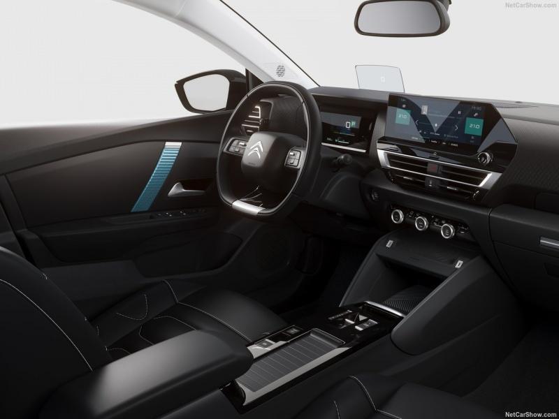 Yeni Citroen C4, iç mekan