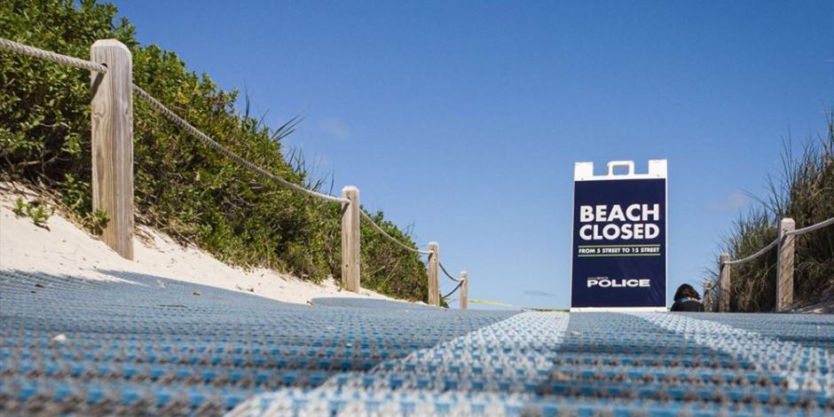 Miami plajları koronavirüs önlemleri nedeniyle kapatılıyor