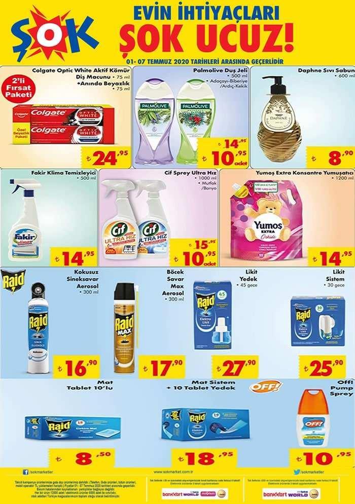 ŞOK 3 Temmuz Aktüel Ürünler Kataloğu