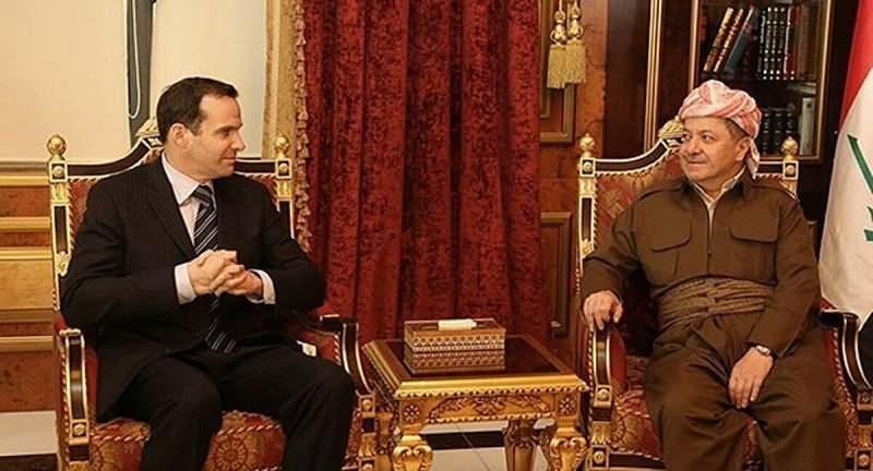 Mesud Barzani ile McGurk