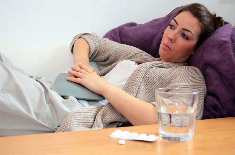 ishal şiddetli karın ağrısına yol açar