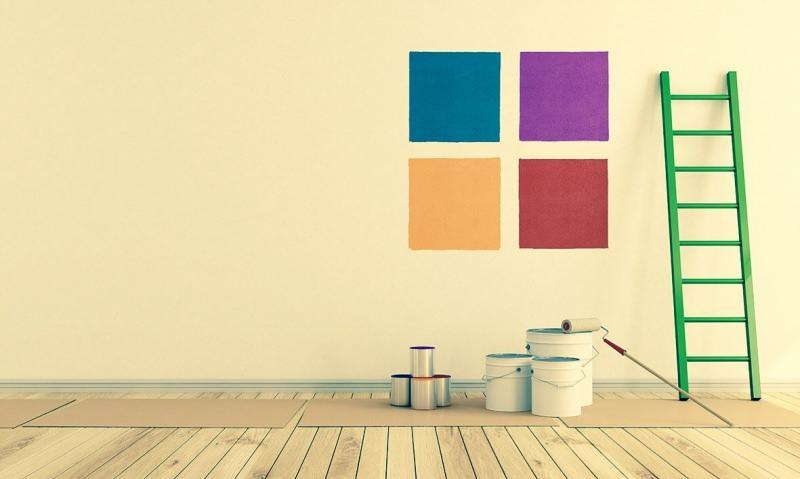 evi boyamak için gerekli malzemeler