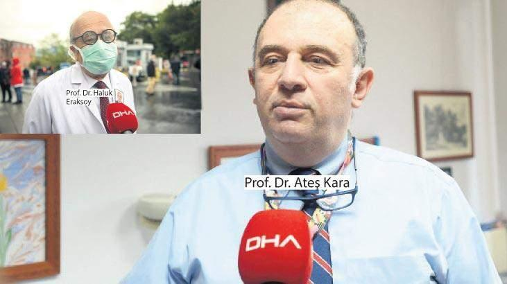 Prof. Dr. Ateş Kara ve Prof. Dr. Haluk Eraksoy