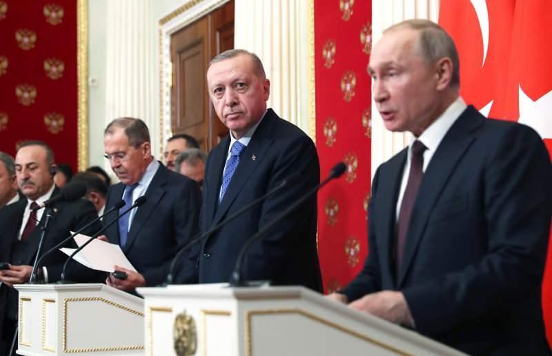 Cumhurbaşkanı Erdoğan ve Vladimir Putin