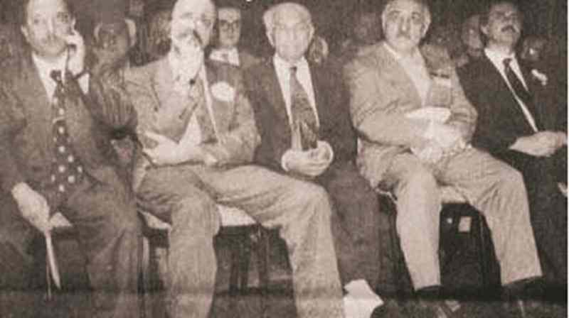 Fetullah Gülen ve Kasım Gülek.