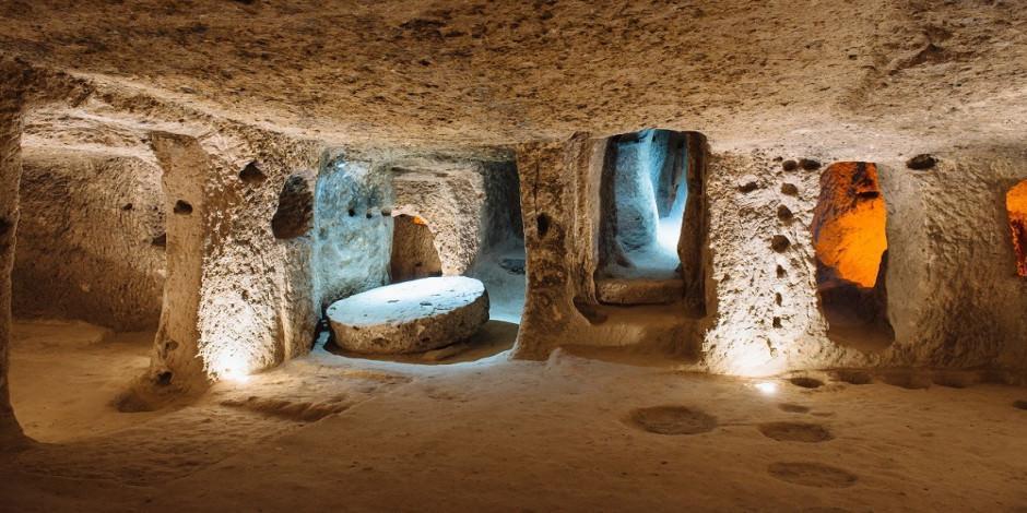 Kapadokya'nın yeraltı şehirleri kapılarını yeniden açıyor