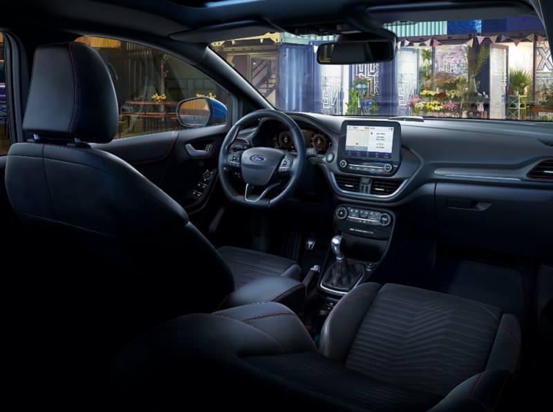Yeni Ford Puma - İç mekan