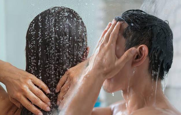 Kadın ve erkek için gusul abdesti alınışı