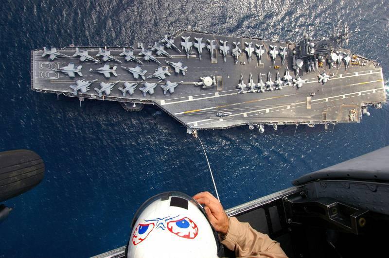 Eisenhower aircraft carrier