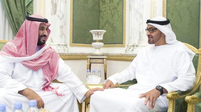 Suudi Arabistan Veliah Prensi Selman ile BAE Veliaht Prensi Zayed