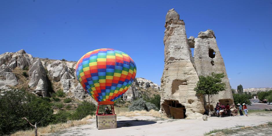 Kapadokya semaları sanal turla görülebiliyor