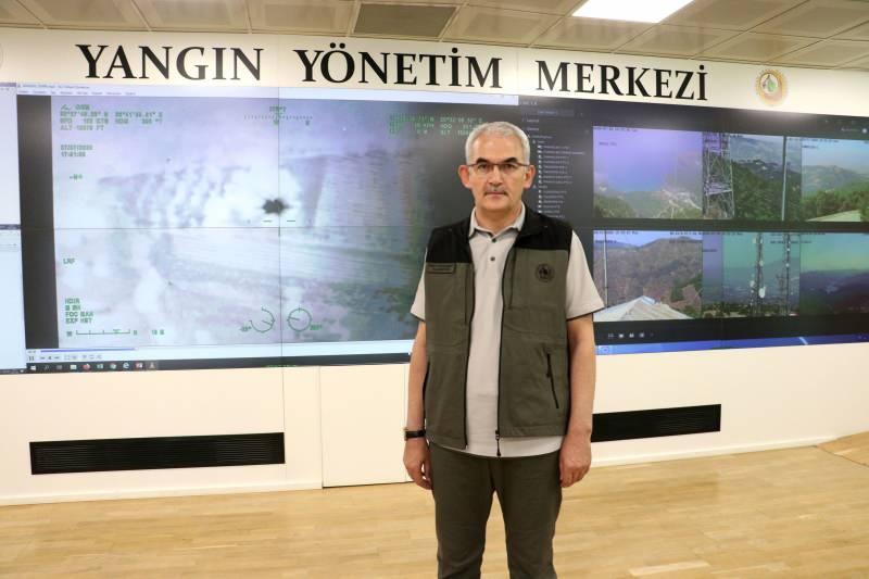 Orman Genel Müdürü Bekir Karacabey