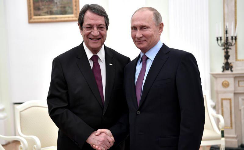Anastasiadis ve Putin