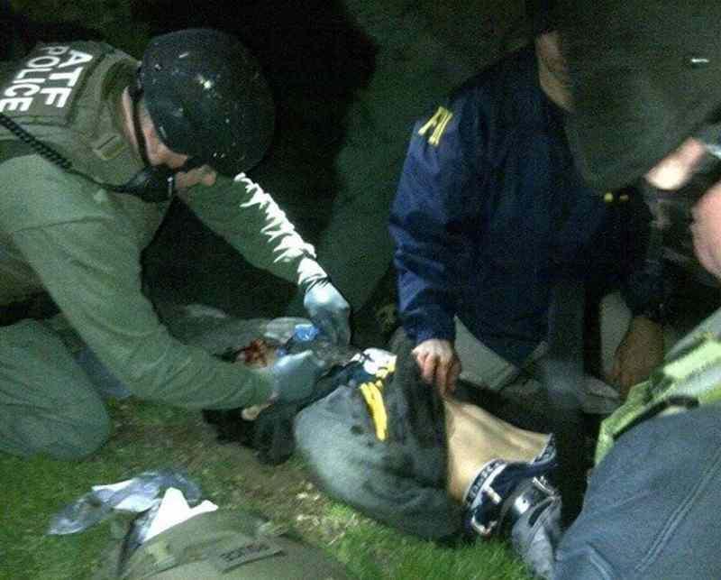 Boston Maratonu bombacısı Dzokhar Tsarnaev'ın yakalanma anı