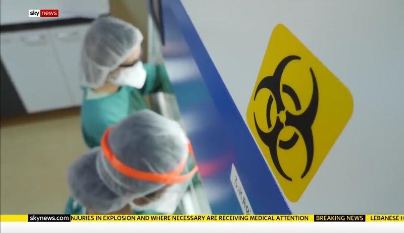 İngiliz Sky News'ten Türkiye'ye koronavirüsle mücadele övgüsü!