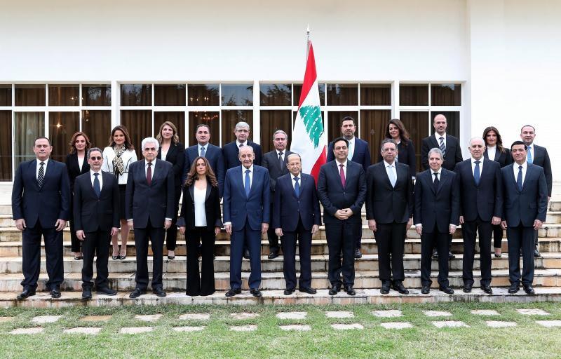 Lübnan'da istifa eden kabine