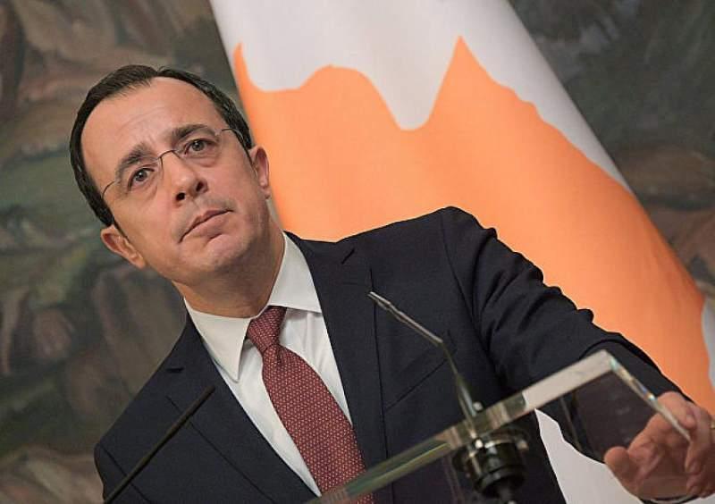 Güney Kıbrıs Rum Yönetimi'nin Dışişleri Bakanı Nikos Hristodulidis