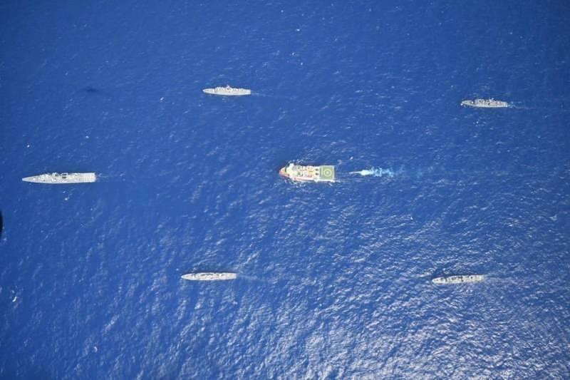 MSB'nin Oruç Reis gemisine ilişkin yaptığı paylaşım
