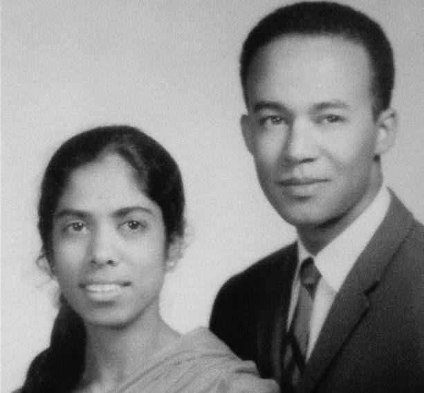 Harris'in anne ve babası