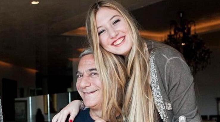Mehmet Ali Erbil ve kızı Yasmin Erbil