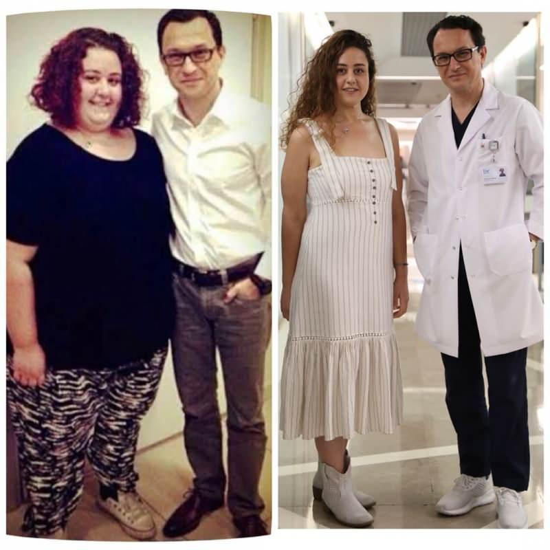 aslı samat geçirdiği mide ameliyatı sonrası ciddi bir kilo verdi