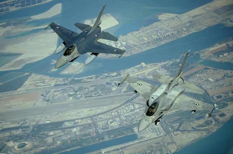 BAE'ye ait F-16'lar