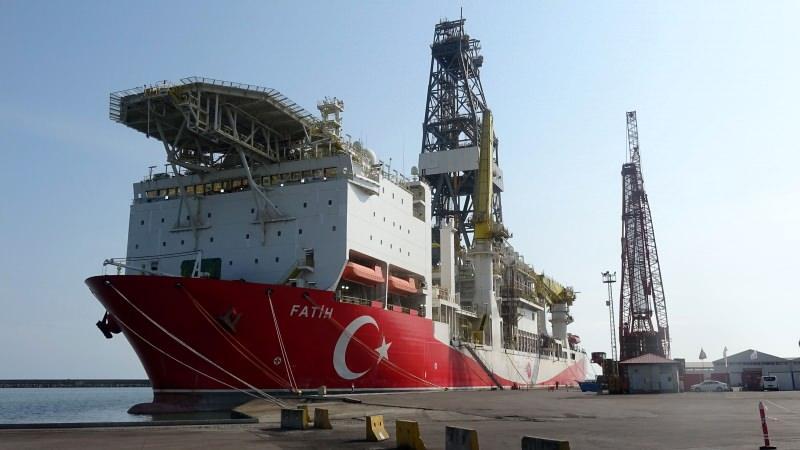 Fatih Sondaj Gemisi, Karadeniz'de ilk sondaj için hazır.