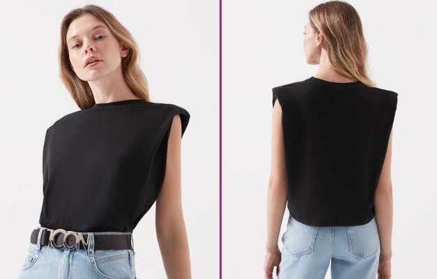 Vatka nedir? Yeni dönem vatkalı tişört modelleri