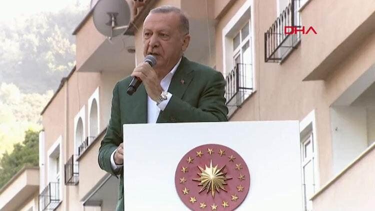Son dakika haberi: Cumhurbaşkanı Erdoğan'dan Giresun'da önemli açıklamalar